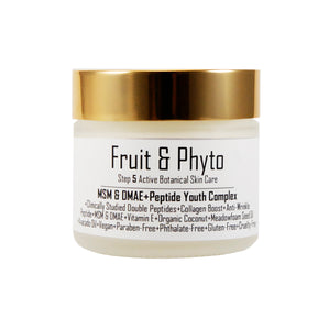 MSM & DMAE, Double Peptide, 72 hr Moisture Youth Complex Face Cream