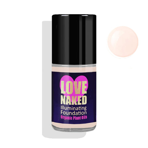 Naked Liquid Foundation Organic ( Porcelain )