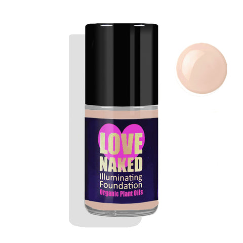 Naked Organic Liquid Foundation ( Sand )