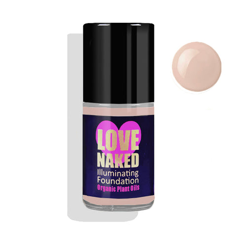 Naked Organic Liquid Foundation ( Honey )