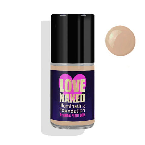 Naked Organic Liquid Foundation ( Golden )