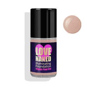 Naked Organic Liquid Foundation ( Praline )