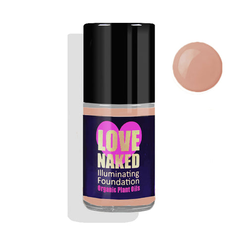 Naked Organic Liquid Foundation ( Pecan )