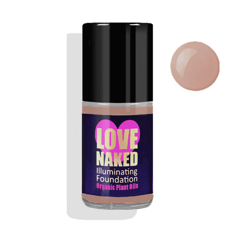 Naked Organic Liquid Foundation ( Almond )
