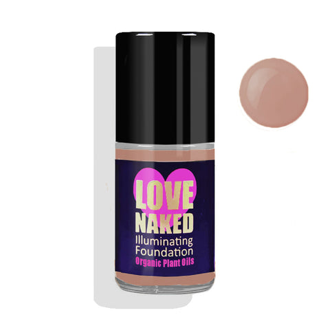 Naked Organic Liquid Foundation ( Caramel )