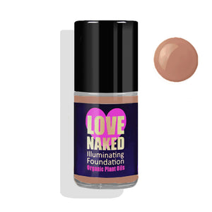 Naked Organic Liquid Foundation ( Toffee )