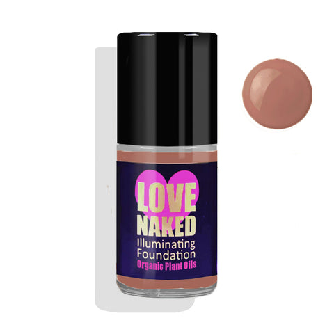 Naked Organic Liquid Foundation ( Bronze )
