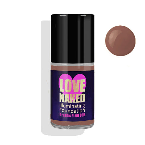 Naked Organic Liquid Foundation ( Espresso )