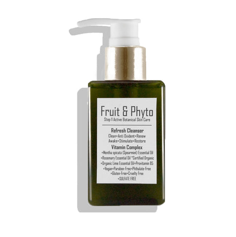 Natural Gentle Foaming Cleanser Refresh Spearmint + Rosemary + Lime (all skin types)