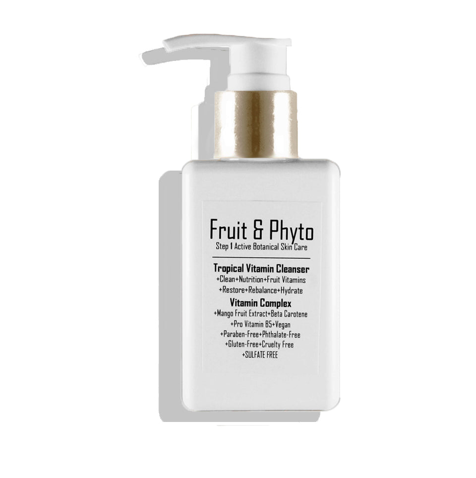 Bestseller! Natural Tropical Vitamin Mango Orange Gentle Foaming Cleanser (normal to dry skin)