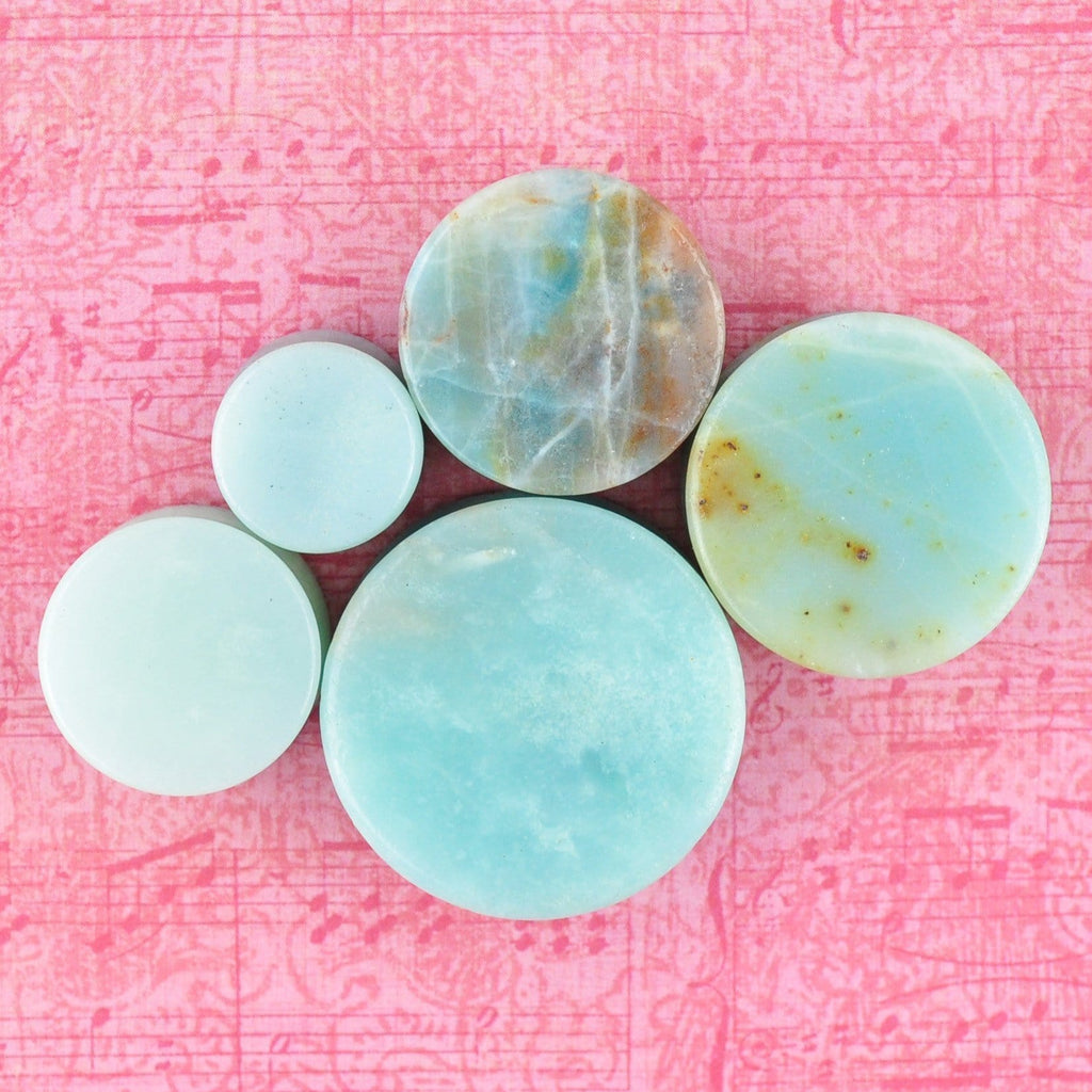 AMAZONITE- our newest stone option is here!