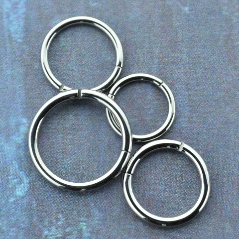 Titanium Hinged Segment Ring