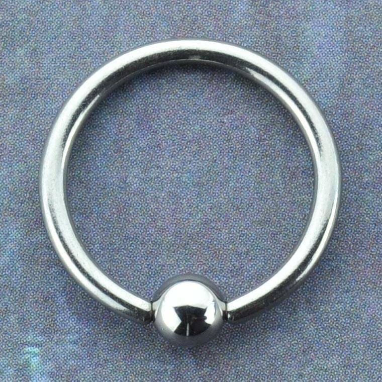 Niobium Captive Bead Ring
