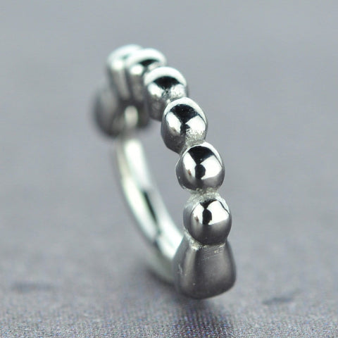 Rook/Daith Clicker with Steel Balls