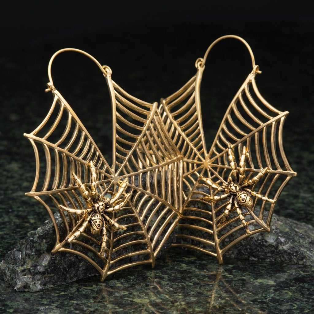 Spiderweb Brass Hangers