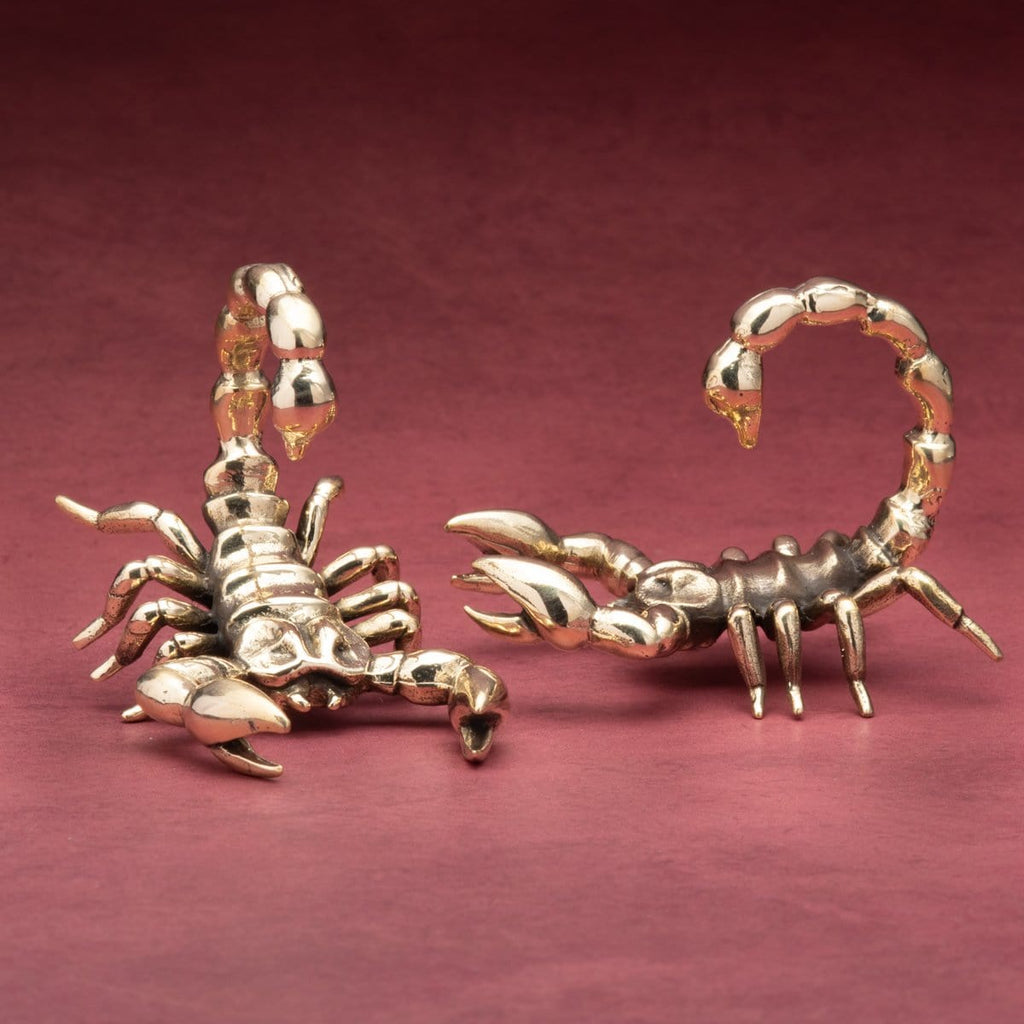 Scorpion Brass Weights