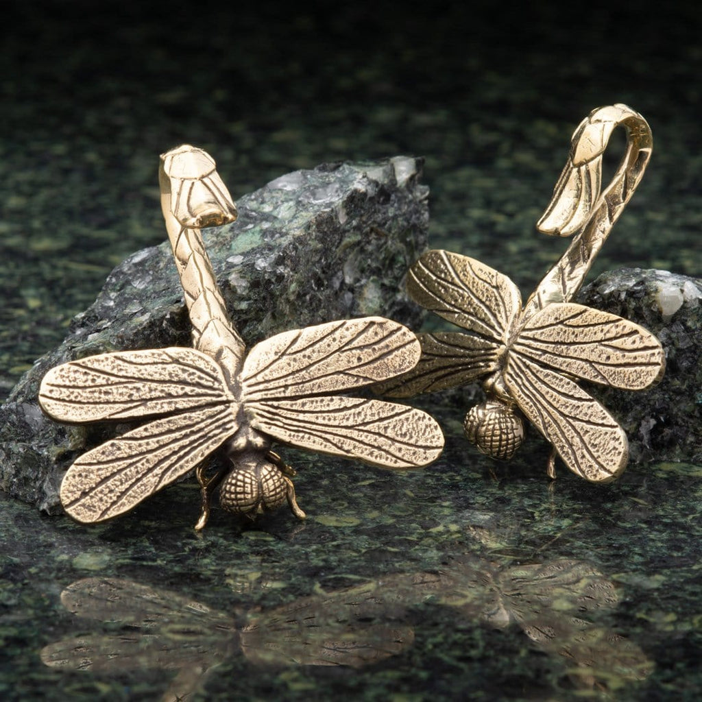 Dragonfly Brass Hangers