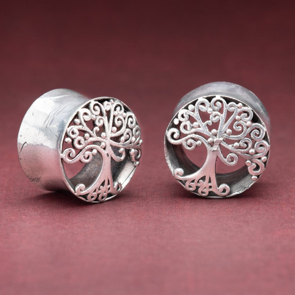 Tree of Life White Brass Tunnels
