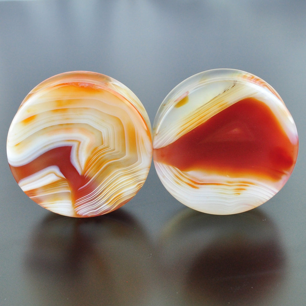 Red Banded Agate # GRB-047-3-P