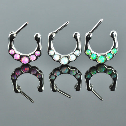 Septum Clicker with Opal Inlay