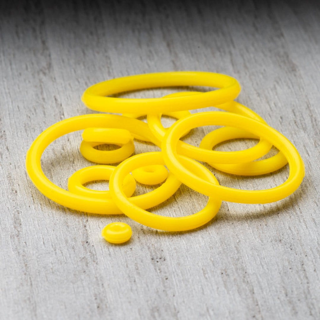 Yellow Silicone O-Rings