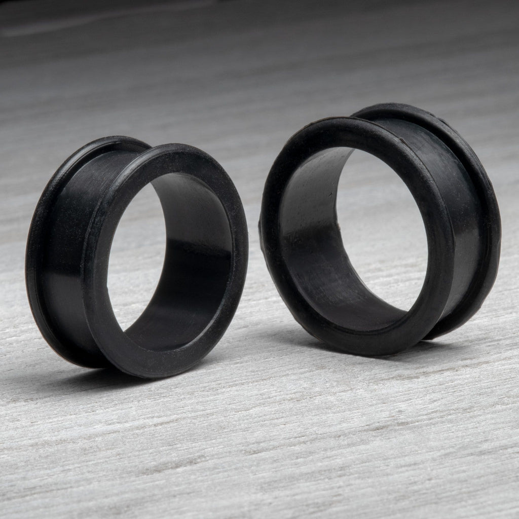 Black Thick Silicone Tunnels