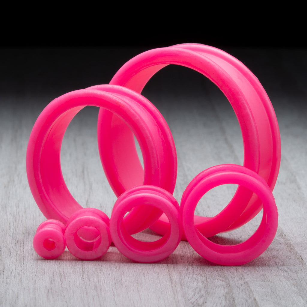 Pearl Pink Thick Silicone Tunnels *Discontinued*