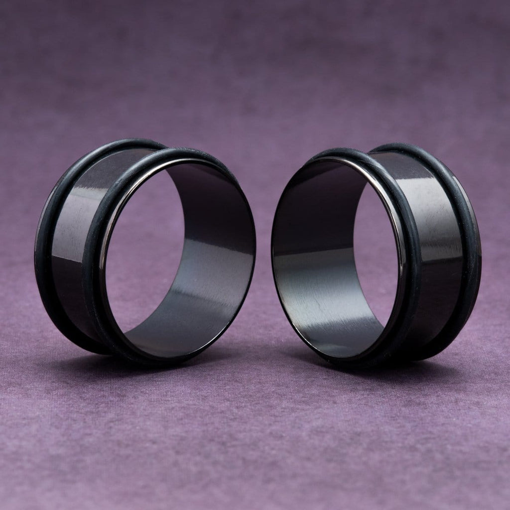 Black No Flare Steel Tunnels
