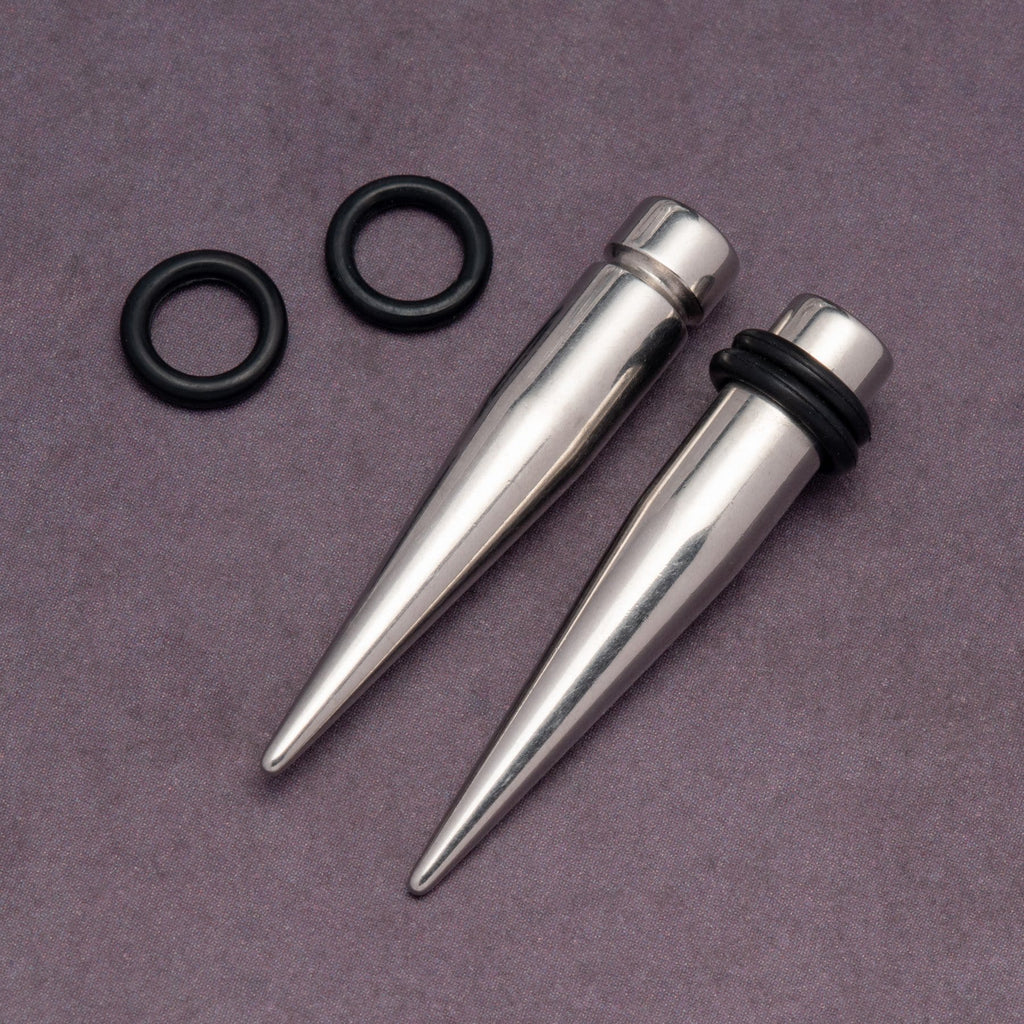 Stainless Steel Tapers With O-Rings