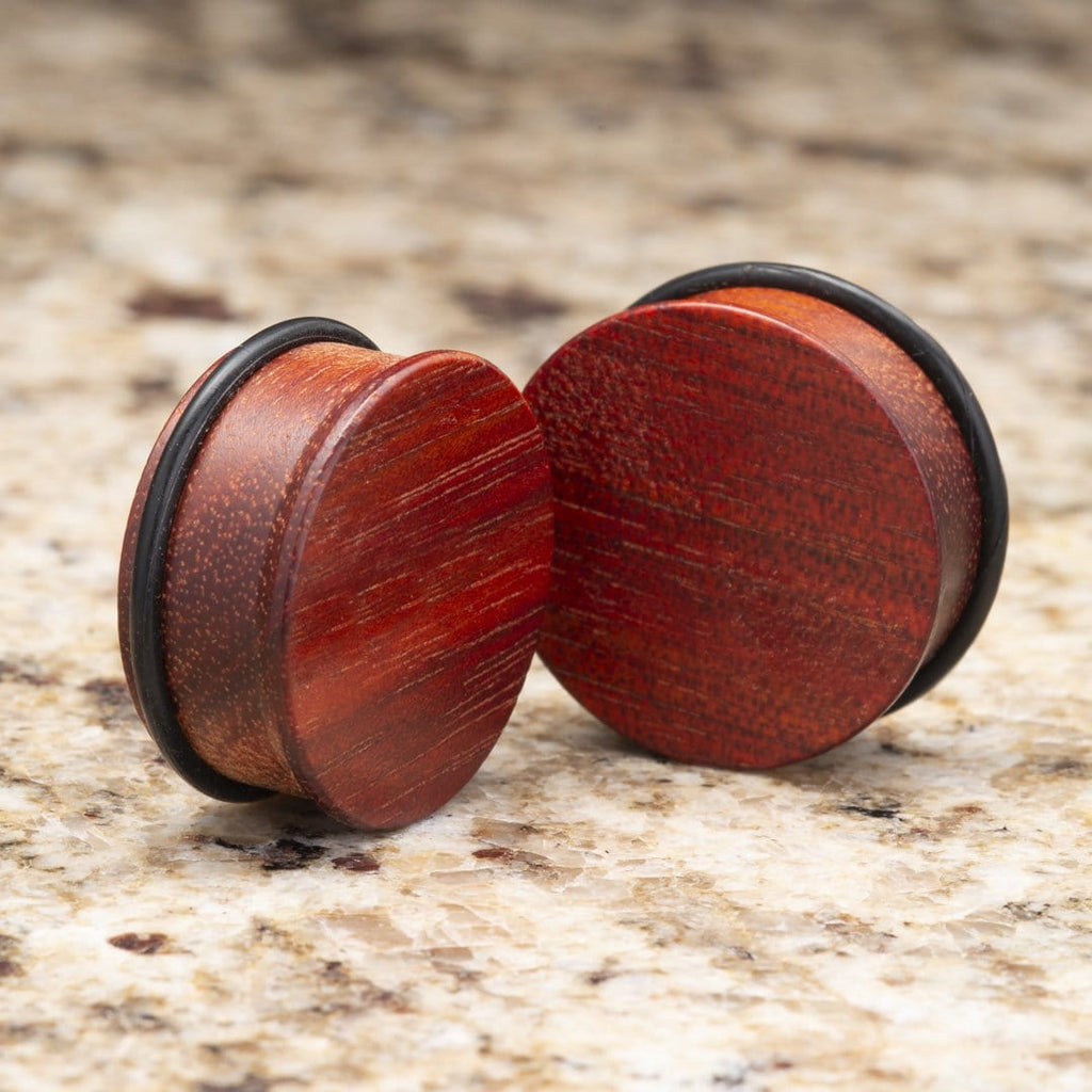 Bloodwood Single Flare Plugs