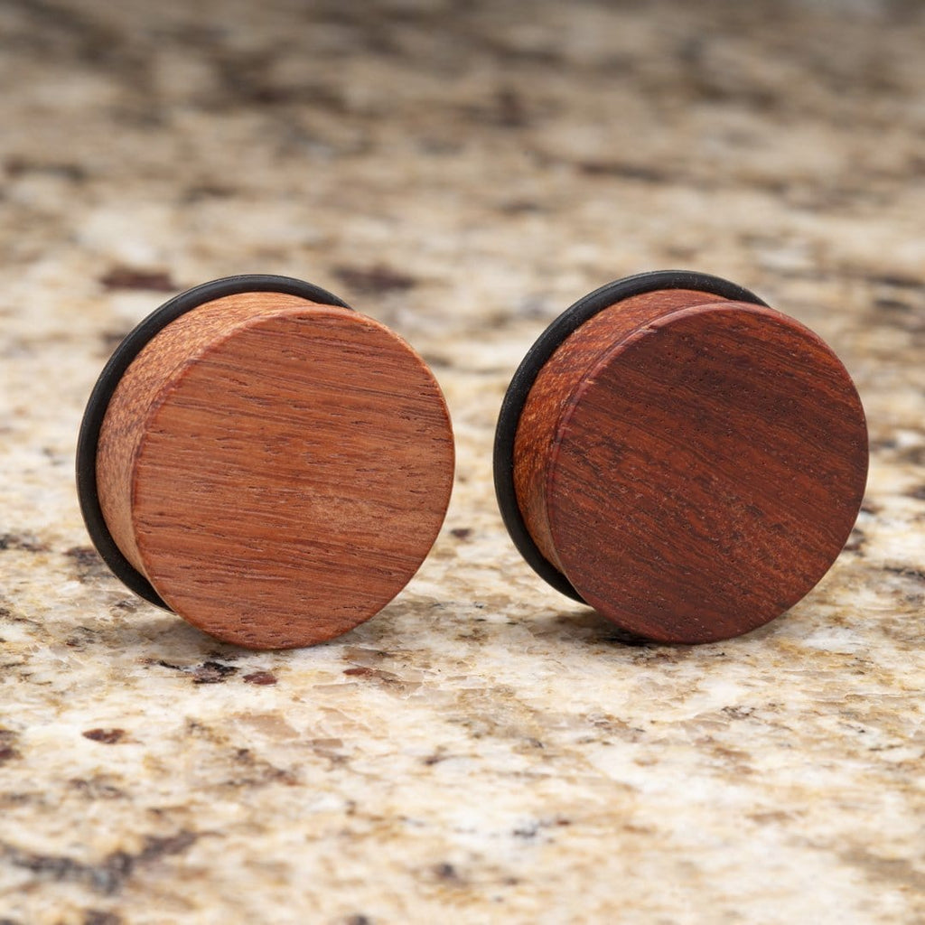 Myanmar Maidu Wood Single Flare Plugs