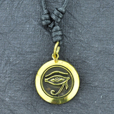 Eye of Horus Brass Necklace