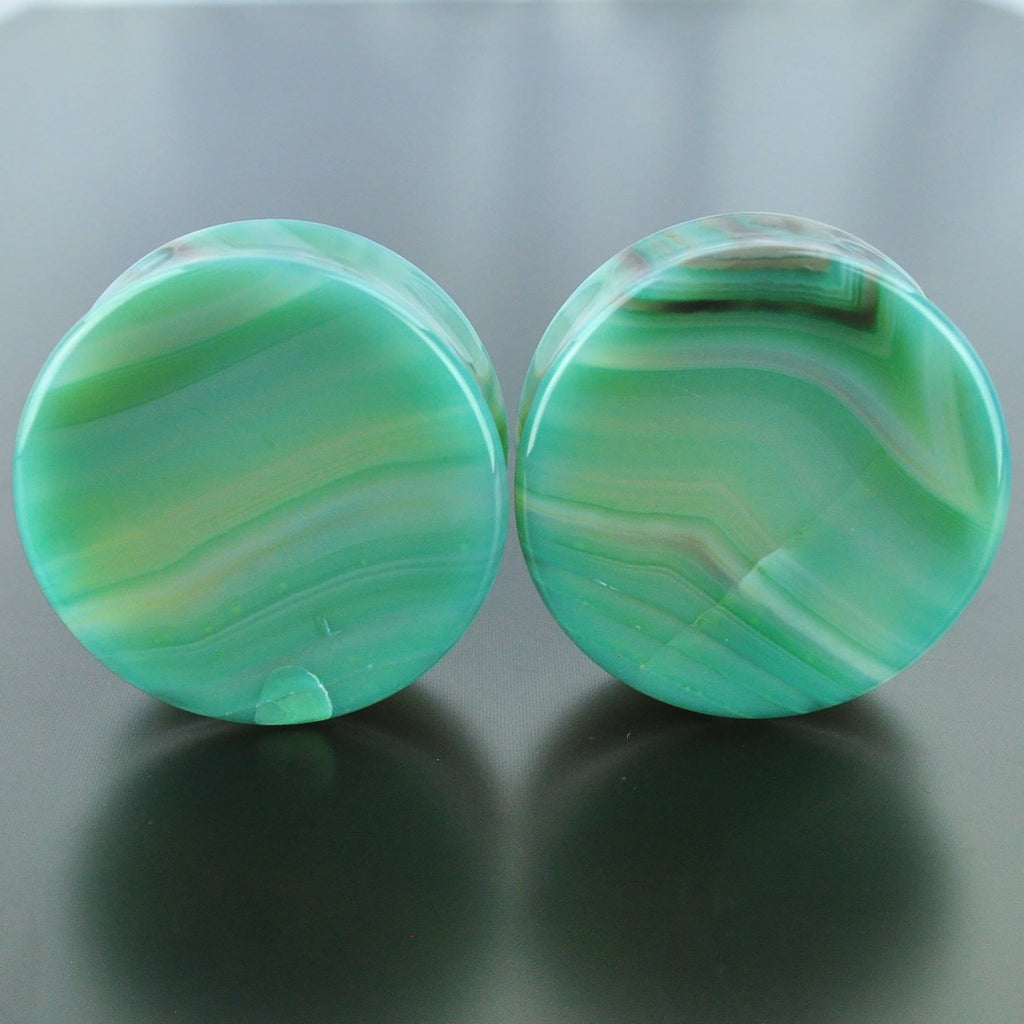 Green Banded Agate #GGB-035-8-C