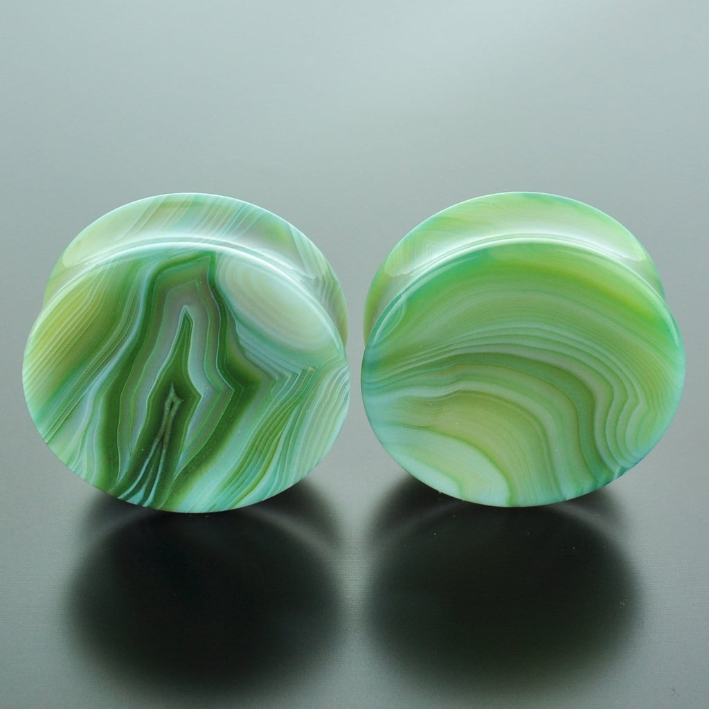 Green Banded Agate #GGB-040-13-C (40mm)