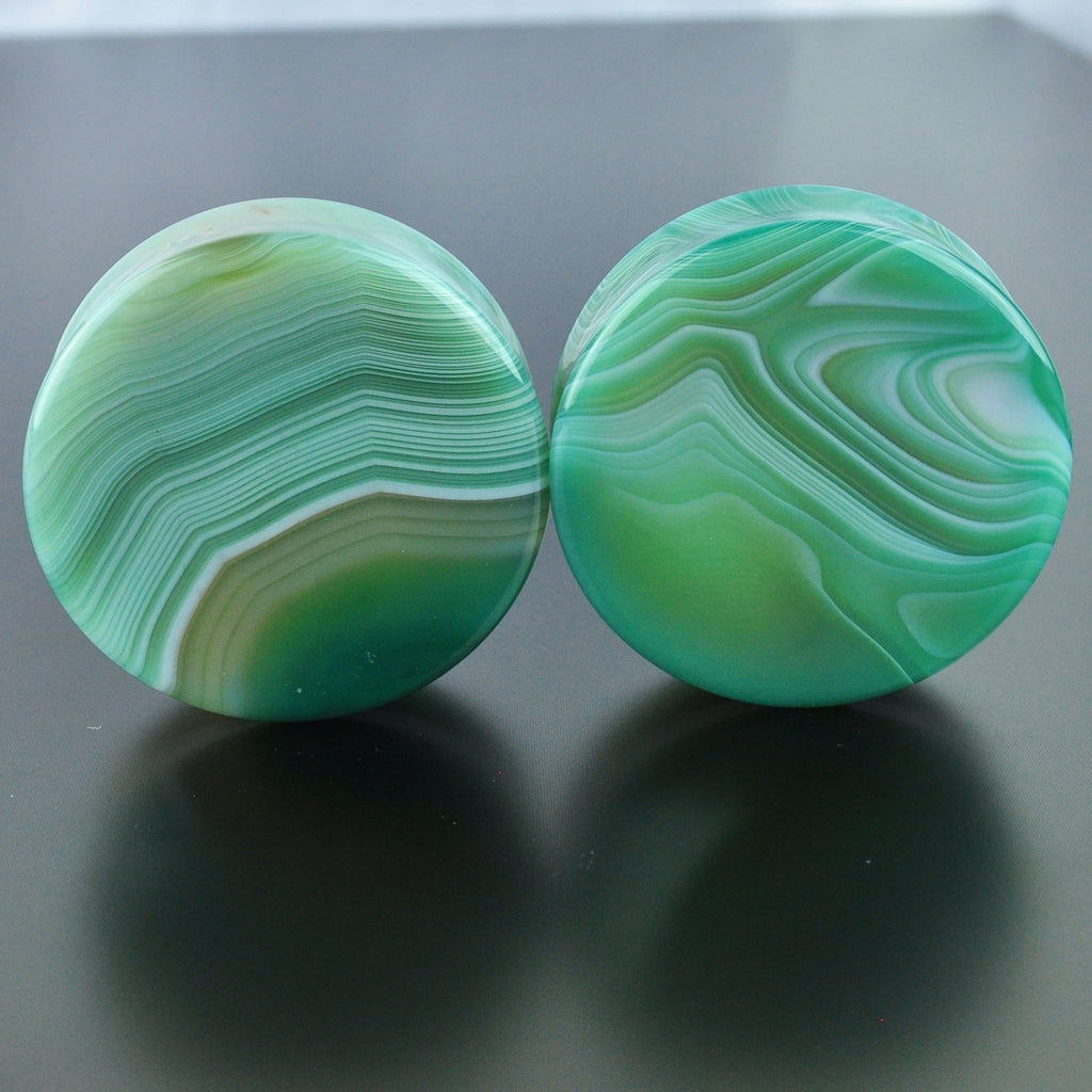 Green Banded Agate #GGB-047-2-C