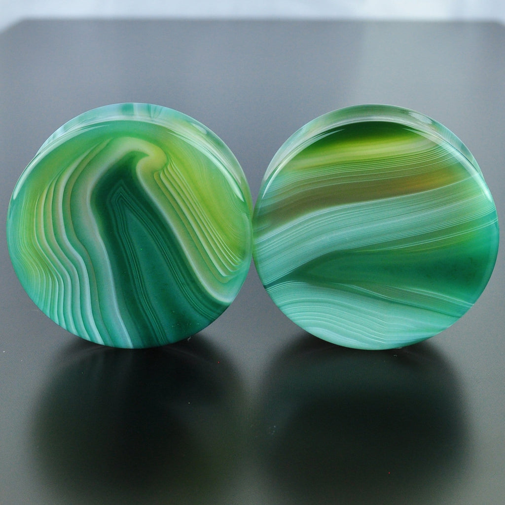 Green Banded Agate #GGB-047-5-C