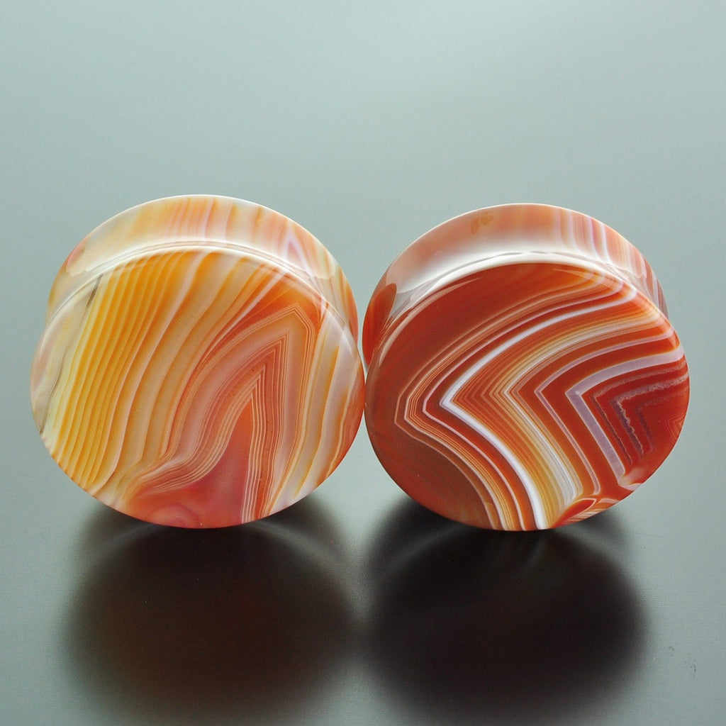 Red Banded Agate #GRB-035-14-C (35mm)
