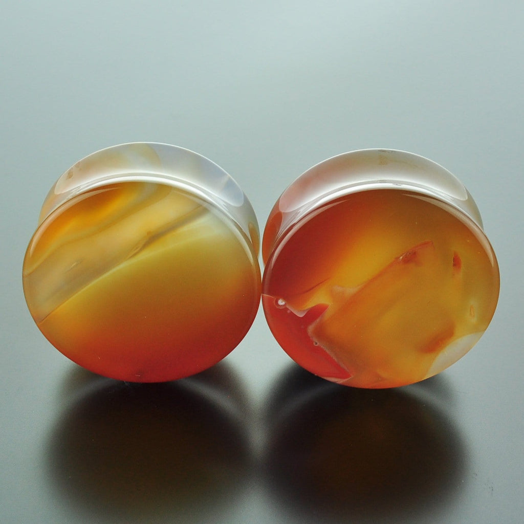 Red Banded Agate #GRB-035-16-C (35mm)