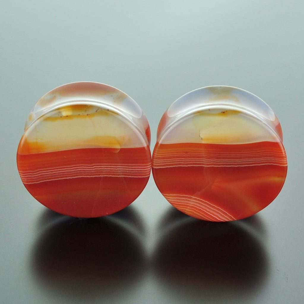 Red Banded Agate #GRB-035-21-C (35mm)