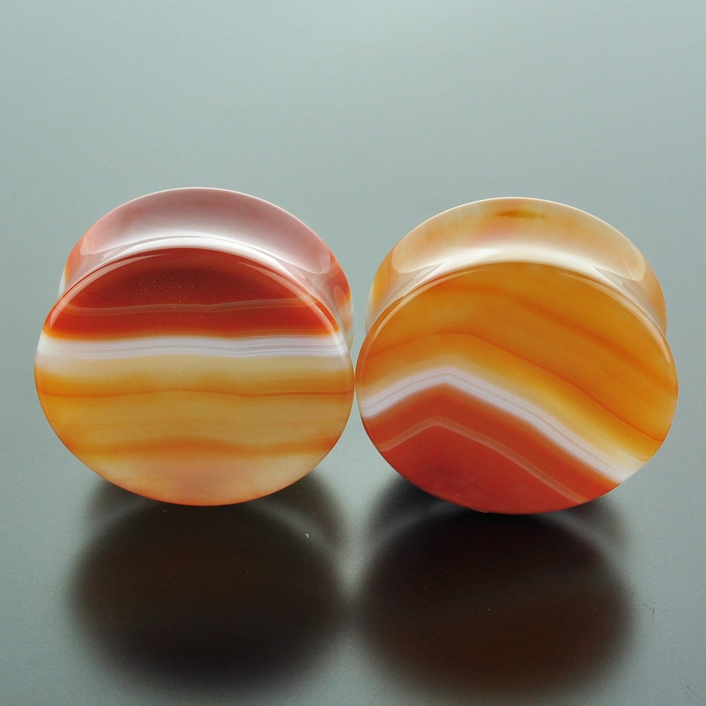 Red Banded Agate #GRB-035-24-C (35mm)