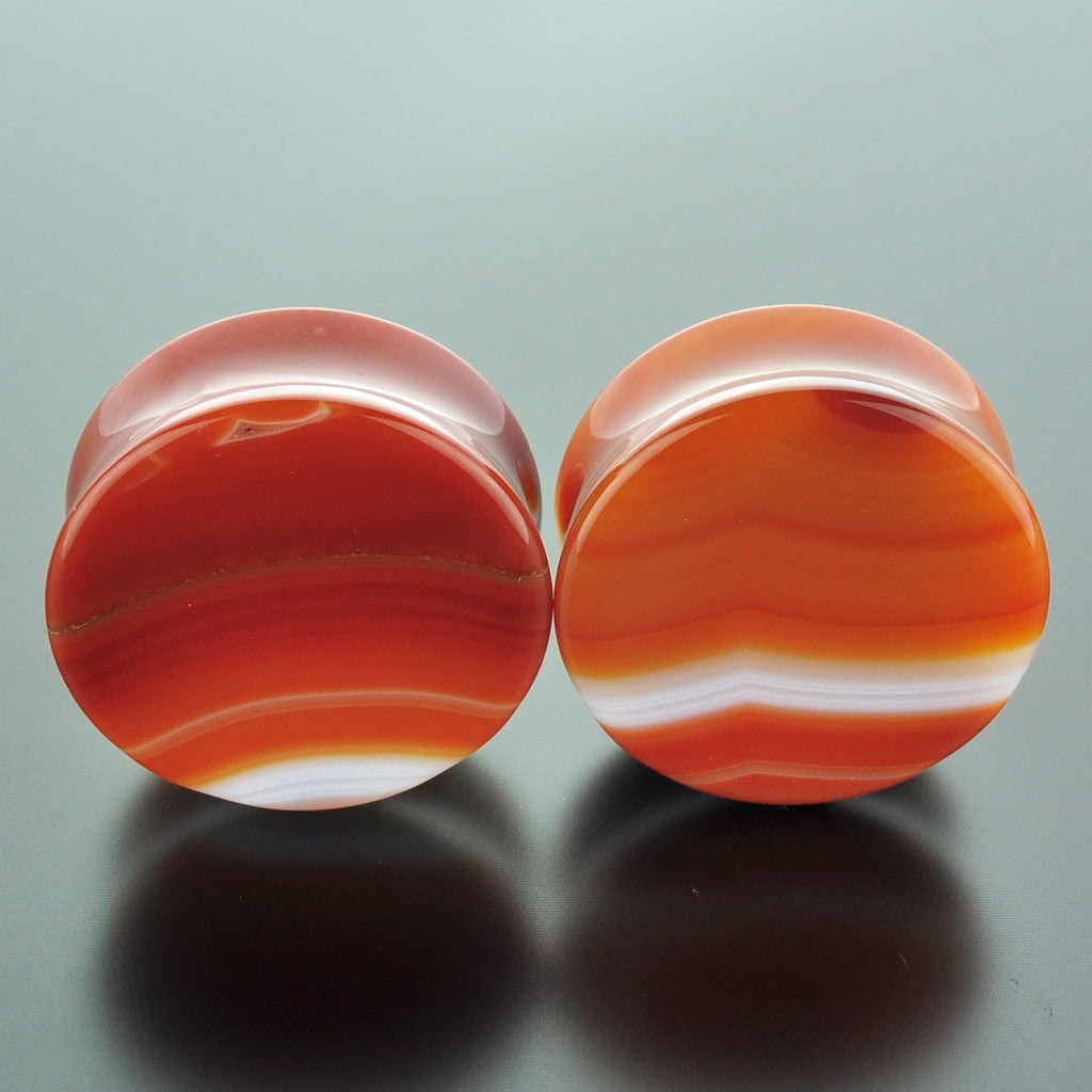 Red Banded Agate #GRB-035-4-C (35mm)
