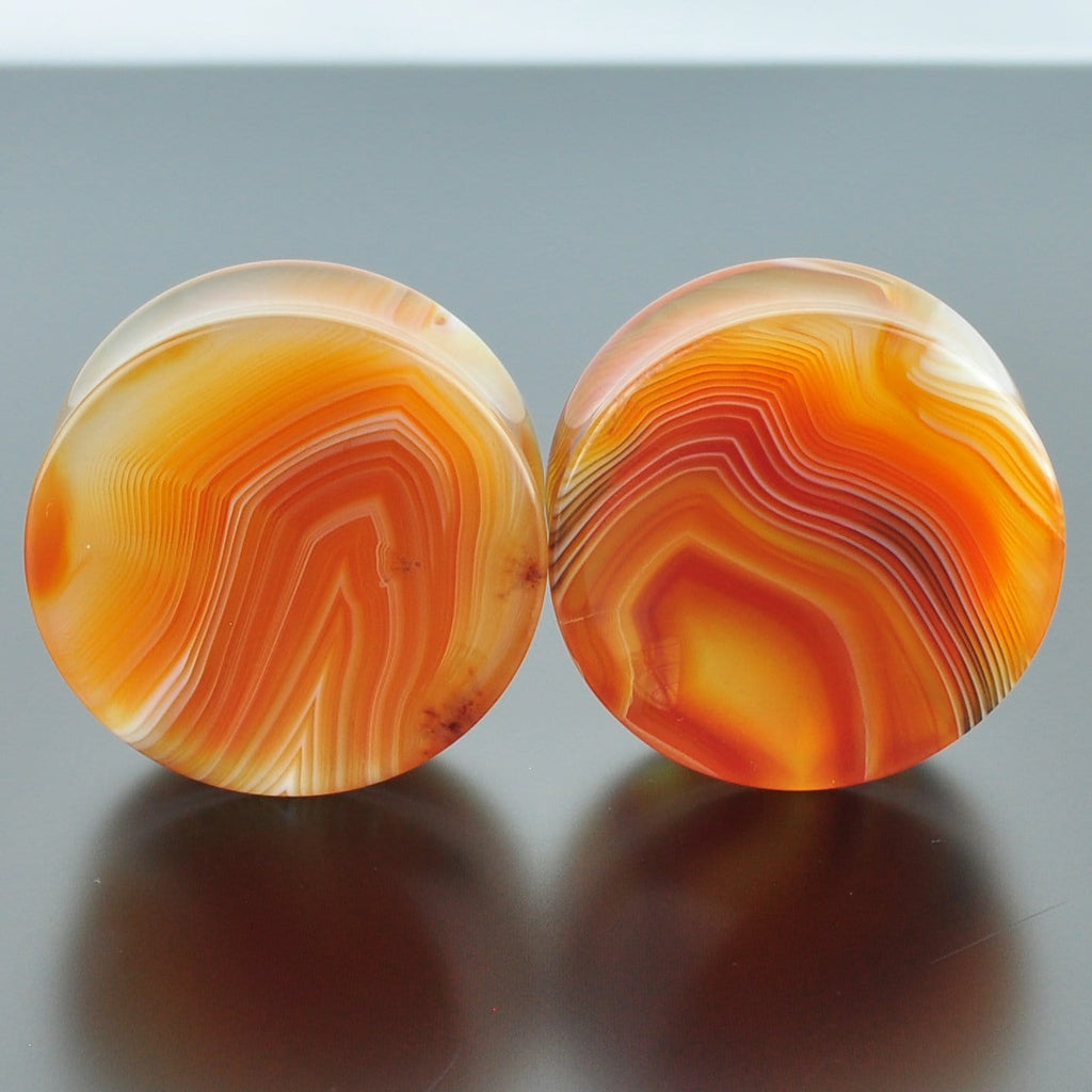 Red Banded Agate #GRB-040-5-C (40mm)