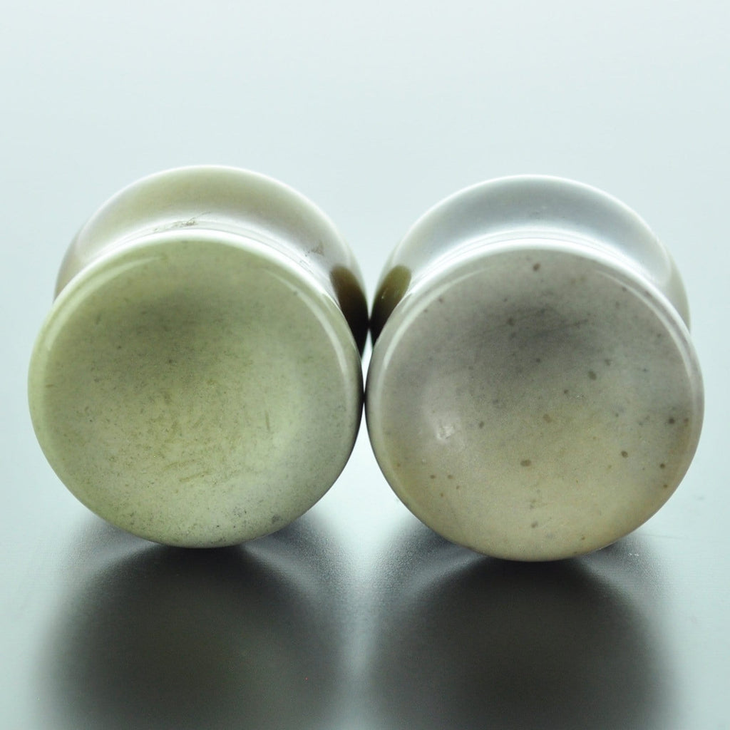 Desert Jasper Double Flare Plugs # JD-014-35-C (14mm)
