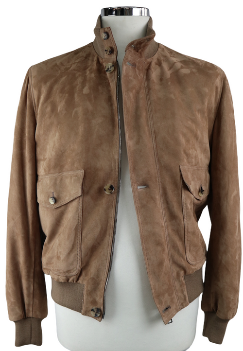 Puddle Mud Suede Bomber jacket