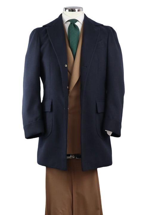 Gaban Navy Blue Overcoat