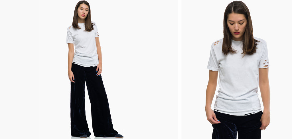 ICONS Tee with Nili Lotan Pant