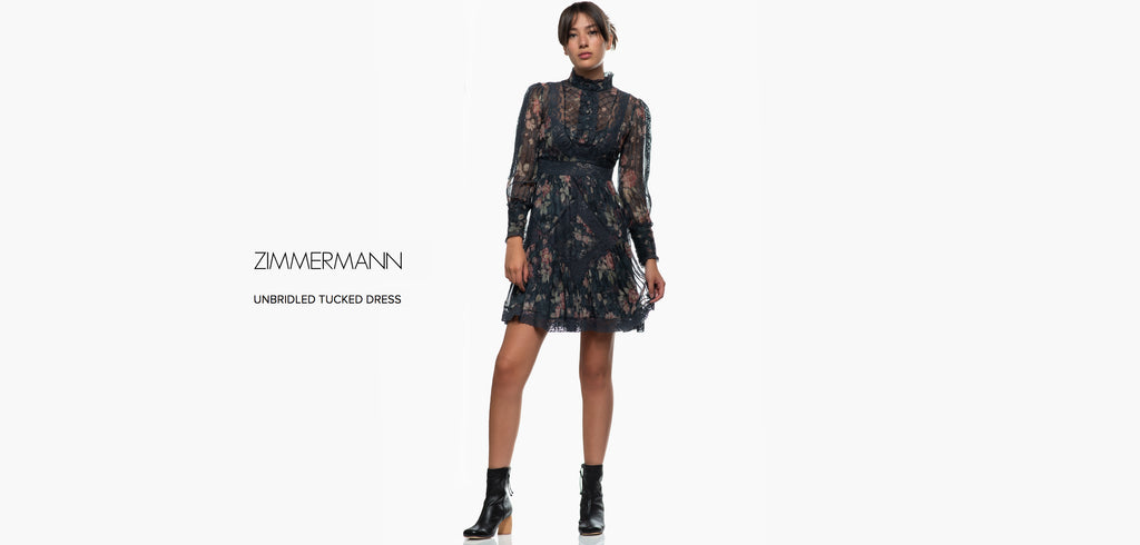 Zimmermann Unbridled Tuck Dress