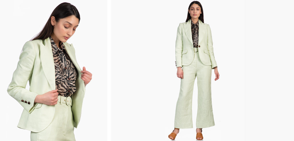 Zimmermann Corsage Crop Pant and Jacket