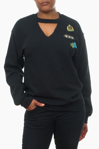 Patch Sweatshirt sports
