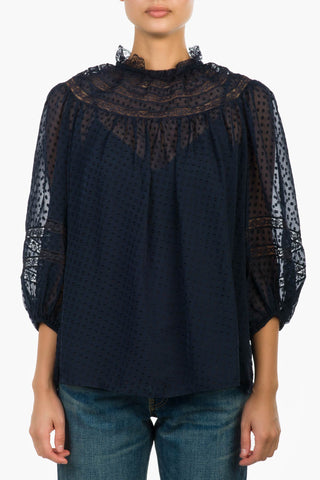 Zimmermann Sabotage Lace Blouse